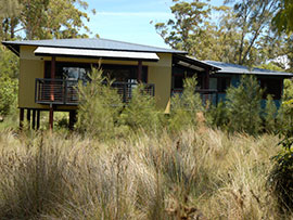 Lake Hut Jervis Bay
